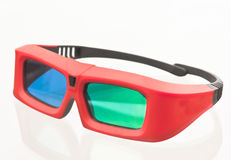 3D glasses, Xpand system. Isolated on white background royalty free stock photo