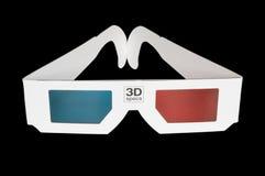 3D glazen Royalty-vrije Stock Afbeelding