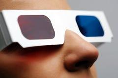 3D glazen Royalty-vrije Stock Foto's
