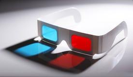 3D Glazen Royalty-vrije Stock Afbeeldingen