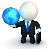 3D global business Stock Image