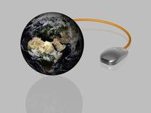 3d globalizacja odizolowywający Zdjęcia Stock