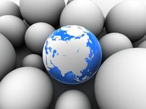3d globe Royalty Free Stock Image