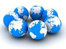 3d globe Royalty Free Stock Image