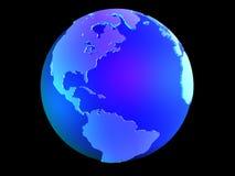 3d globe Stock Photography