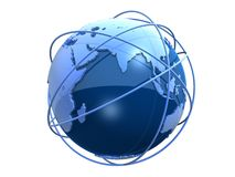 3d globe Royalty Free Stock Photo