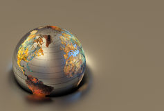 3d globe Stock Images