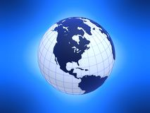 3d globes Royalty Free Stock Image