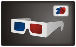 3D Goggles Stock Photo