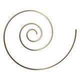 3d Gold Spiral Royalty Free Stock Images