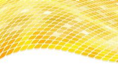 3D golden mosaic Royalty Free Stock Image