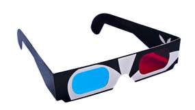 3d googles Royalty Free Stock Photo