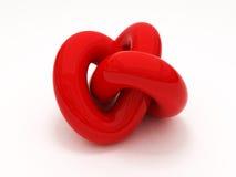 3D Gordian knot Stock Photos