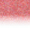 3d gradient fluffy pink red bubble pattern Stock Photography