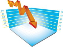 3d grafiek Royalty-vrije Stock Afbeelding