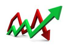 3d grafiek Stock Foto's