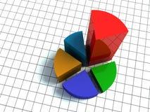 3d grafiek Stock Afbeeldingen