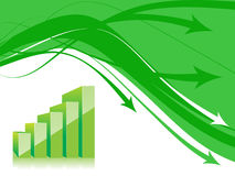 3d graph Stock Images