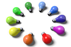 3D graphics, idea, concept, creative, problem, sol Stock Photography