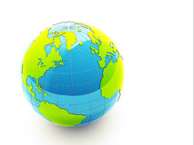 3d green earth Royalty Free Stock Photography
