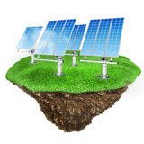 3d green energy concept Royalty Free Stock Image