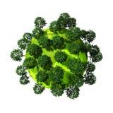 3d green planet Stock Photos