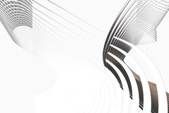 3d grey lines Stock Images