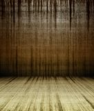 3d grunge concrete wall with stains Stock Images