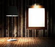3d grunge lampasów ściana Zdjęcia Stock