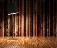 3d grunge stripes wall Royalty Free Stock Image