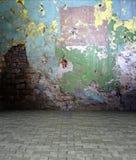 3d grungepleister en concrete textuur Royalty-vrije Stock Afbeelding
