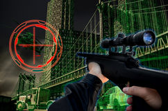 3D gry Obraz Royalty Free