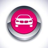 3d guzika samochód Fotografia Stock