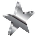 3d gwiazda Obraz Stock