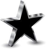 3d gwiazda Obrazy Stock