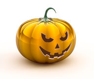 3d halloween pumpkin Royalty Free Stock Photos