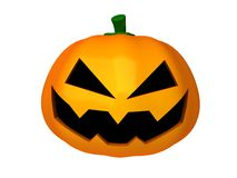 3d Halloween pumpkin Stock Images