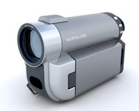3D Handycam Royalty Free Stock Images
