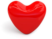 3d hart Royalty-vrije Stock Afbeeldingen