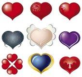 3D hart royalty-vrije illustratie