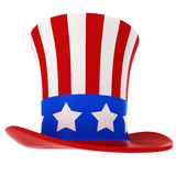 3d hat - independence day Stock Image