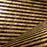 3D Hazard Stripe Interior Royalty Free Stock Photo