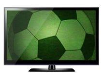 3D HDTV royalty free illustration
