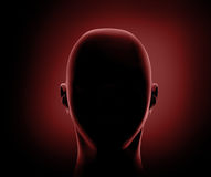 3d head Royalty Free Stock Photography