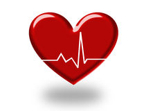 3d heart Stock Images
