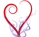 3d heart abstract royalty free illustration