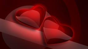3d hearth odpłaca się symbol Zdjęcie Stock
