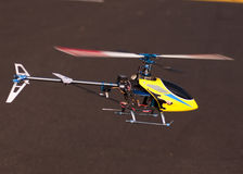 3D Helikopter van de afstandsbediening Stock Foto's