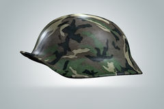 3D Helmet Army Soldier Royalty Free Stock Images