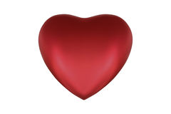 3D het hart geeft terug Stock Afbeelding